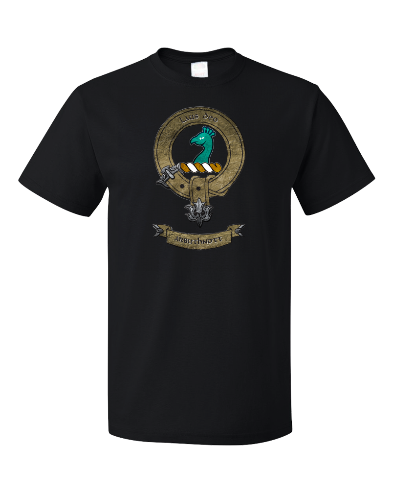 Standard Black Clan Arbuthnott - Scottish Pride Ancestry Clan Arbuthnott Family T-shirt