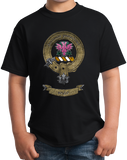 Youth Black Clan Boyle - Scottish Pride Heritage Ancestry Family Clan Boyle T-shirt
