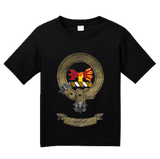 Youth Black Clan Brodie - Scottish Pride Heritage Ancestry Clan Brodie T-shirt
