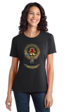 Ladies Black Clan Cameron - Scottish Pride Heritage Ancestry Clan Cameron T-shirt