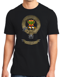 Standard Black Clan Carnegie - Scottish Pride Heritage Family Clan Carnegie T-shirt