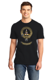 Standard Black Clan Charteris - Scottish Pride Heritage Ancestry Clan Charteris T-shirt