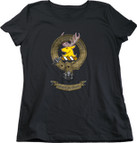 Ladies Black Fraser of Lovat Clan - Scottish Pride Clan Fraser of Lovat T-shirt