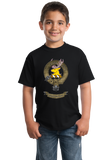 Youth Black Fraser of Lovat Clan - Scottish Pride Clan Fraser of Lovat T-shirt