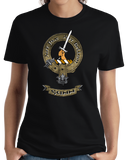 Ladies Black Gunn Clan - Scottish Pride Heritage Ancestry Clan Gunn T-shirt