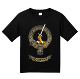 Youth Black Gunn Clan - Scottish Pride Heritage Ancestry Clan Gunn T-shirt