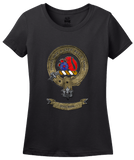 Ladies Black Macbain Clan - Scottish Pride Heritage Clan Macbain Family T-shirt