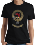 Ladies Black Mackintosh Clan - Scottish Pride Heritage Clan Mackintosh T-shirt