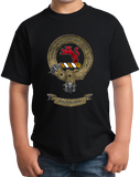 Youth Black Mackintosh Clan - Scottish Pride Heritage Clan Mackintosh T-shirt