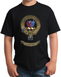 Youth Black Maclaine Clan - Scottish Pride Heritage Family Clan Maclaine T-shirt