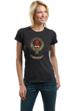 Ladies Black Maclean Clan - Scottish Pride Heritage Family Clan Maclean T-shirt