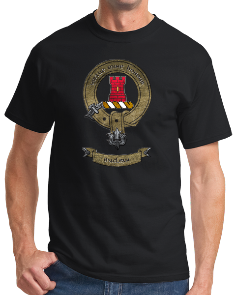 Standard Black Maclean Clan - Scottish Pride Heritage Family Clan Maclean T-shirt