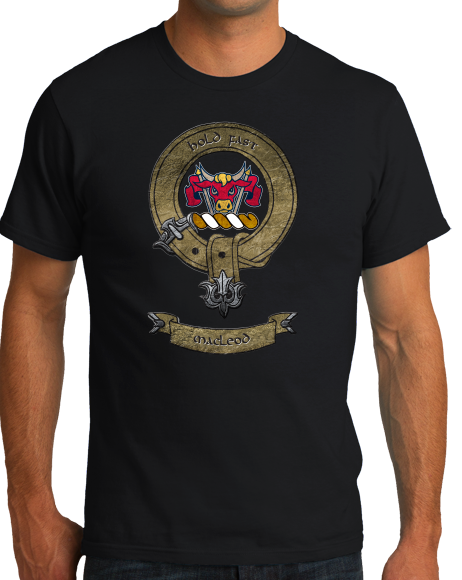 Standard Black MacLeod Clan - Scottish Pride Heritage Ancestry Clan Macleod T-shirt