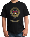 Youth Black MacLeod Clan - Scottish Pride Heritage Ancestry Clan Macleod T-shirt