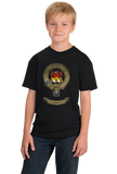 Youth Black Makgill Clan - Scottish Pride Heritage Ancestry Clan Makgill T-shirt