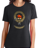 Ladies Black Clan Nesbitt - Scottish Pride Heritage Family Clan Nesbitt T-shirt