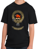 Youth Black Clan Nesbitt - Scottish Pride Heritage Family Clan Nesbitt T-shirt