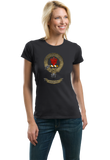 Ladies Black Clan Robertson - Scottish Pride Alba Heritage Clan Robertson T-shirt