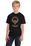Youth Black Clan Ross - Scottish Pride Heritage Family Name Clan Ross T-shirt