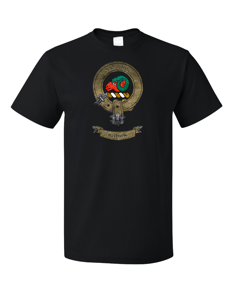 Standard Black Clan Ruthven - Scottish Pride Heritage Family Clan Ruthven T-shirt