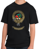 Youth Black Clan Ruthven - Scottish Pride Heritage Family Clan Ruthven T-shirt
