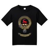 Youth Black Clan Scott - Scottish Pride Heritage Ancestry Clan Scott T-shirt