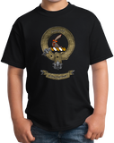 Youth Black Clan Scrymgeour - Scottish Pride Heritage Clan Scymgeour T-shirt