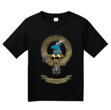 Youth Black Clan Sempill - Scottish Pride Heritage Family Clan Sempill T-shirt