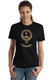 Ladies Black Clan Sinclair - Scottish Pride Heritage Family Clan Sinclair T-shirt