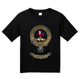 Youth Black Clan Sinclair - Scottish Pride Heritage Family Clan Sinclair T-shirt