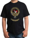 Youth Black Clan Skene - Scottish Pride Heritage Family Name Clan Skene T-shirt