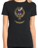 Ladies Black Clan Spens - Scottish Pride Heritage Family Name Clan Spens T-shirt