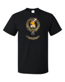 Standard Black Clan Stirling - Scottish Pride Heritage Family Clan Stirling T-shirt