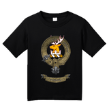 Youth Black Clan Stirling - Scottish Pride Heritage Family Clan Stirling T-shirt