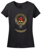 Ladies Black Clan Stuart - Scottish Pride Heritage Family Clan Stuart T-shirt