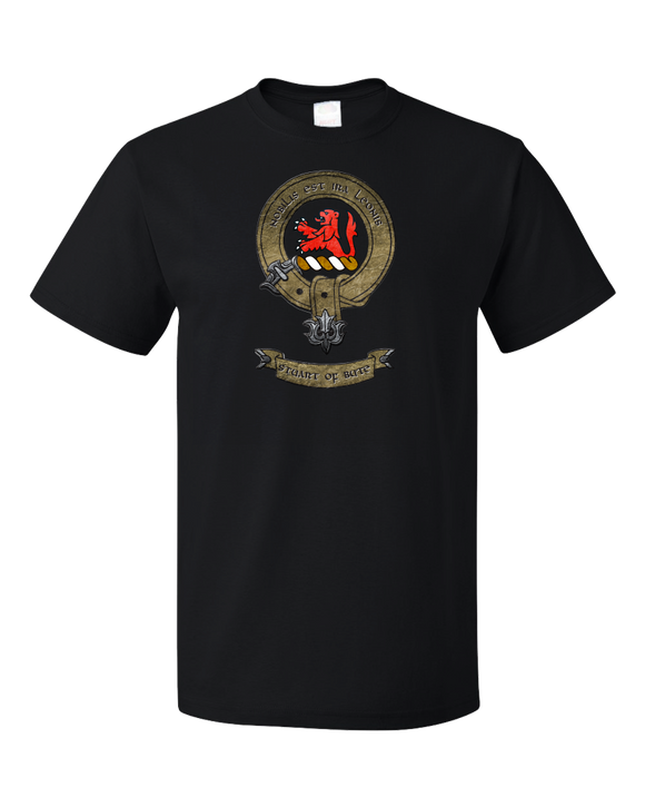 Standard Black Clan Stuart - Scottish Pride Heritage Family Clan Stuart T-shirt
