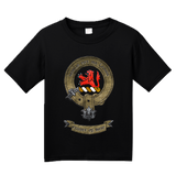 Youth Black Clan Stuart - Scottish Pride Heritage Family Clan Stuart T-shirt