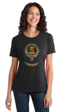 Ladies Black Clan Swinton - Scottish Pride Heritage Family Clan Swinton T-shirt