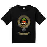 Youth Black Clan Swinton - Scottish Pride Heritage Family Clan Swinton T-shirt