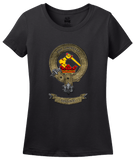 Ladies Black Clan Wallace - Scottish Pride Heritage Family Clan Wallace T-shirt