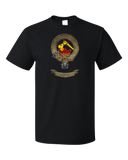 Standard Black Clan Wallace - Scottish Pride Heritage Family Clan Wallace T-shirt