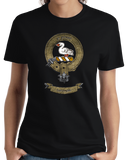 Ladies Black Clan Wemyss - Scottish Pride Heritage Family Clan Wemyss T-shirt