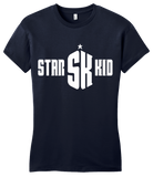 Girly Navy StarKid/Doctor Who Crossover T-shirt