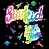 Starkid 'lisa Frank' Style 1 2 3 Ever Tee Black Art Preview