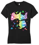 Girly Black Starkid 'lisa Frank' Style 1 2 3 Ever Tee T-shirt