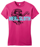 Girly Hot Pink StarKid 1-2-3Ever Meresloth T-shirt