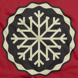 SNOWFLAKE ICON Red art preview