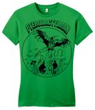 Girly Green StarKid Holy Musical, B@man! Pterodactyl Man T-shirt