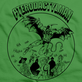 StarKid Holy Musical, B@man! Pterodactyl Man Green Art Preview