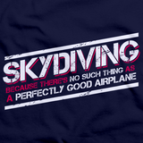 Skydiving: No Such Thing As Perfectly Good Airplane Navy art preview